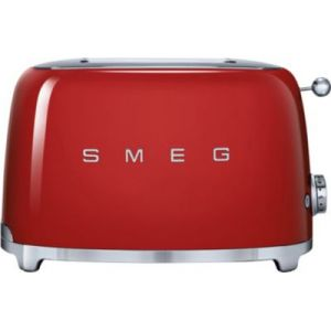 Smeg TSF01P - Grille-pain 2 tranches