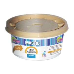 PVM Mastic vitrier naturel 500 g