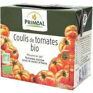 Priméal Coulis de tomate 500 g