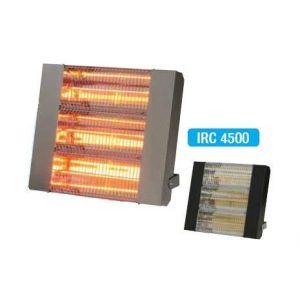 Sovelor Chauffage radiant électrique inox infrarouge halogène quartz 4500W IRC4500CI