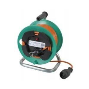 Ribimex PREEJ25315V - Enrouleur dévidoir cable électrique 3500w 25m