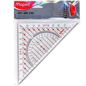 Maped Équerre Géométrie 26 cm