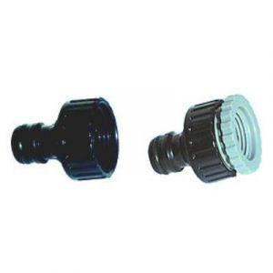 Nez de robinet d'arrosage plastique femelle 26x34 - QLG