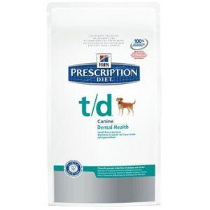 Hill's Prescription Diet t/d canine - Sac 3 kg