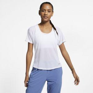 Nike Haut de running Breathe Miler pour Femme - Blanc - Taille L - Female