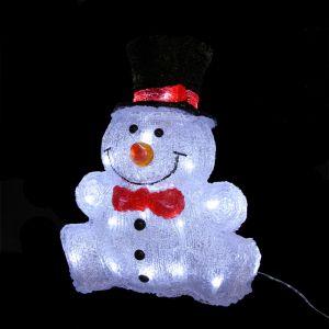 Basou - Bonhomme de neige lumineux 32 LED