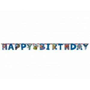 Amscan Guirlande happy birthday Pat' Patrouille