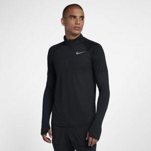 Nike Haut de running à demi-zip Element pour Homme - Noir - Taille L