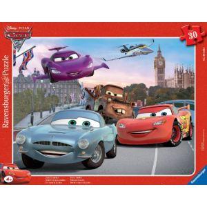 Ravensburger Puzzle Cars 2: Toute l'équipe à Londres 30 pièces