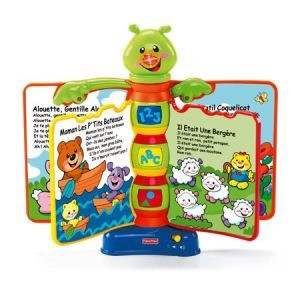Fisher-Price H8174 - Livre interactif comptines