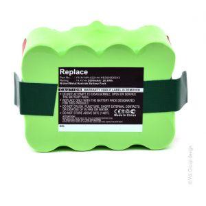 Nx Batterie aspirateur 14.4V 2Ah NS3000D03X3 YX-NI-MH-022144 YXNIMH02214
