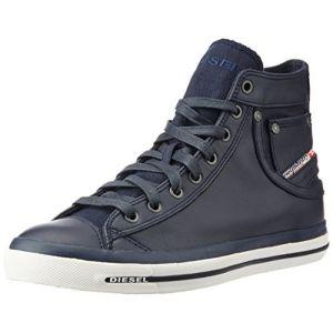 "Diesel ""Magnete Exposure I - Sneaker, Baskets Hautes Homme, Bleu (T6065 Blue Nights Pr052), 41 EU"