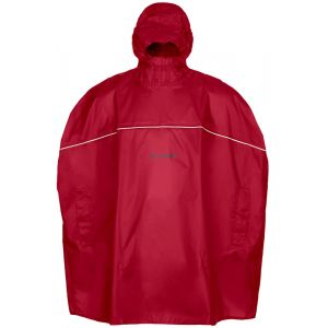 Vaude Imperméables Grody Poncho - Indian Red - Taille L