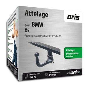 Bosal Attelage «col de cygne> démontable sans outils 050-823