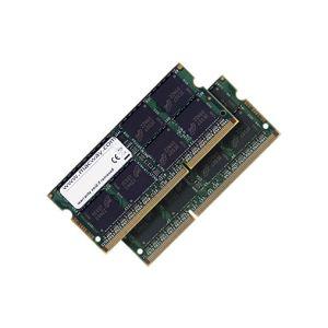 Macway MEMMWY0054D - Barrettes mémoire 2 x 8 Go DDR3 1600 MHz 204 broches