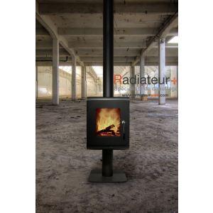 Red Pod PA3052P013 - Poêle à bois Moon Slim 10 kW