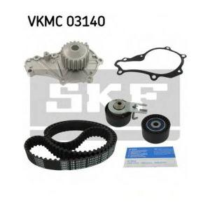 SKF Kit de distribution avec pompe à eau VKMC03140