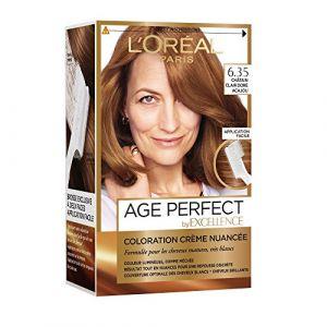 L'Oréal Age Perfect By Excellence Châtain 6.35 Châtain clair doré acajou