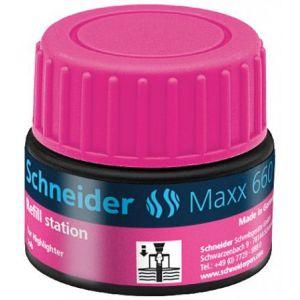 Schneider Electric 166009 - Station de recharge Maxx 660, encre rose de surligneur