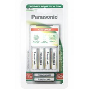 Panasonic Chargeur de piles X4 AA