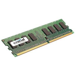 Crucial CT25664AA667 - Barrette mémoire 2 Go DDR2 667 MHz 240 broches