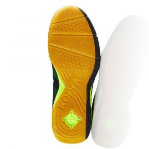 Salming Kobra Indoor Shoes - Men - Black / Yellow - 48 2/3