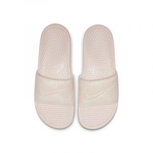 Nike Claquette Benassi JDI Floral pour Femme - Crème - Taille 36.5 - Female