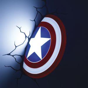 Lansay 10154 - Applique le bouclier de Captain America