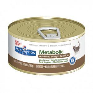 Hill's Feline Metabolic - 24 boîtes de 156 g
