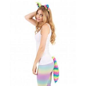 Kit petit chat multicolore adulte Taille Unique