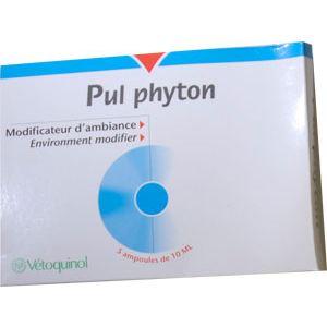 Vetoquinol Pul phyton -  Modificateur d'ambiance respiratoire pour l'habitat des animaux