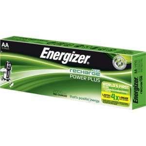 Energizer Lot de 10 piles AA - HR6 2000mAh ACCU Recharge