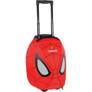 LittleLife Cartable à roulette Wheelie Duffle Spiderman