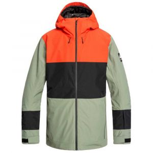 Quiksilver Sycamore Jacket Agave Green Vestes ski