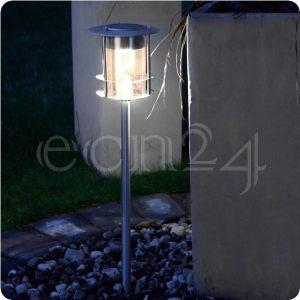 Best Season Lampe solaire avec 6 Led en acier spécial