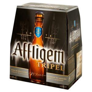 Affligem Bière blonde d'abbaye - Les 6 bouteilles de 25cl