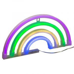 Décoration l ineuse Arc en ciel Neon Multicolore