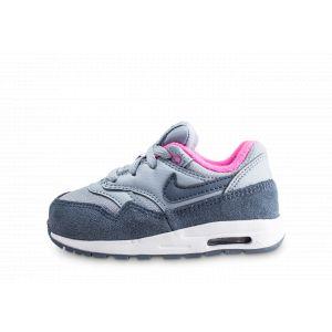 49d74e82507dc Nike Air Max 1 Bleue Et Rose Bébé 23 1 2 Baskets