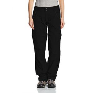 The North Face Pantalon W Horizon Convertible Plus Noir Noir 4 (Regular)