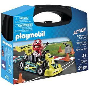 Playmobil 9322 - Valisette pilote de karting