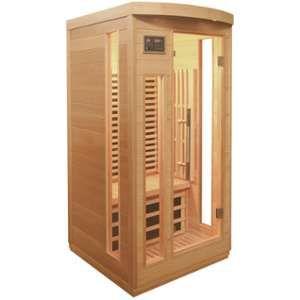 Sauna infrarouge panneaux carbone 1500W 1 place - SNÖ