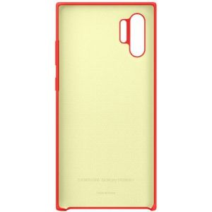 Samsung Coque Note 10+ Silicone rouge