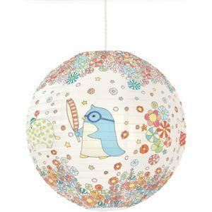 Little Big Room by Djeco Yoko - Suspension boule japonaise en papier imprimé Ø40 cm