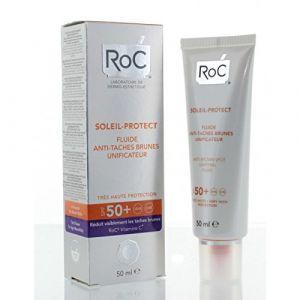 ROC Soleil protect fluide Anti-Taches brunes unificateur SPF50+