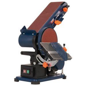 Ferm BGM1003 - Ponceuse à bande et disque 375W