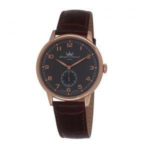 Yonger & bresson HCR 1684-20 - Montre pour homme avec bracelet en cuir