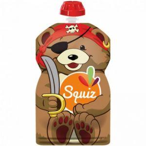 Squiz Gourde réutilisable Ours Carnaval(130 ml)