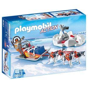 Playmobil 9057 - Explorateur avec chiens de traîneau