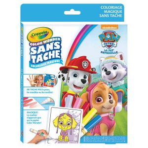 Crayola Color Wonder - Kit de coloriage Pat' Patrouille