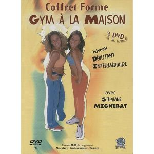 Coffret Gym à la Maison - 3 DVD